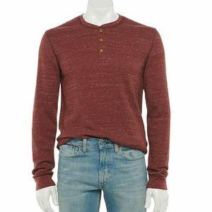 Sonoma Long Sleeve Thermal Shirt NWT